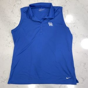 Nike golf shirt tank top! Great condition.